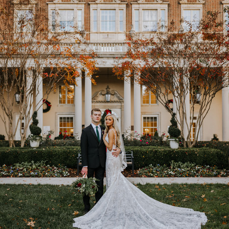 Emily & Ethan   Winter Wedding at Biltmore Ballrooms in Atlanta, GA
