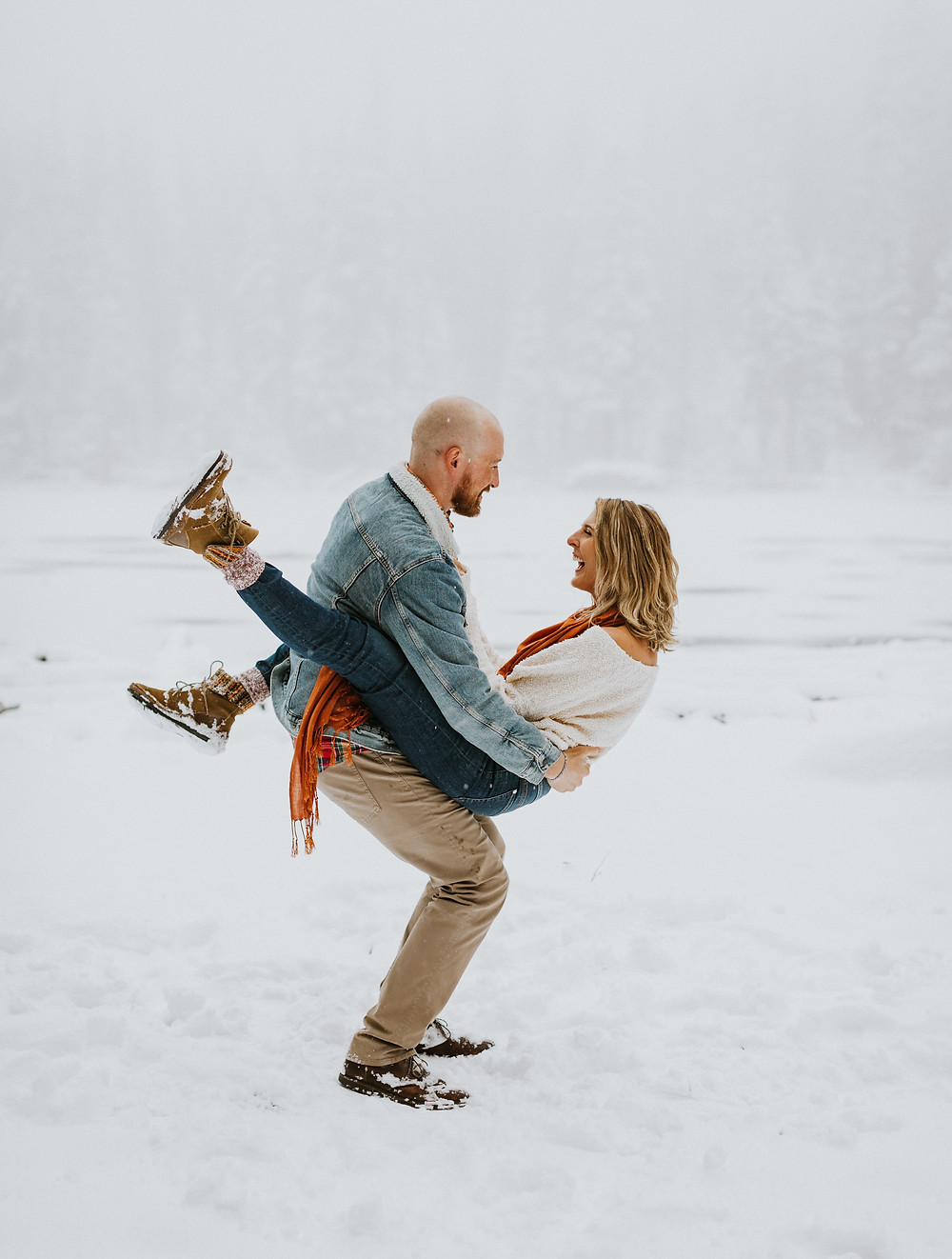 Engagement session in RMNP