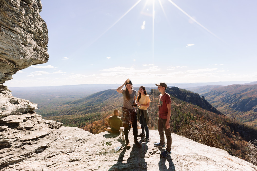 Perfect spot at Table Rock Mountain