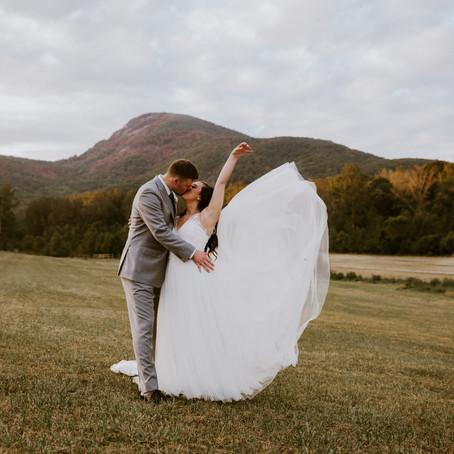 Sarah & Nate's Yonah Mountain Vineyards Wedding