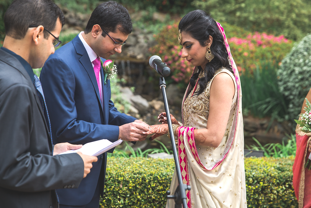 Nikkah Wedding Ceremony Little Gardens Atlanta