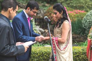 Nikkah Wedding Ceremony Little Gardens Atlanta