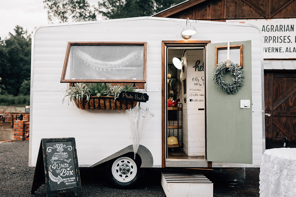 Little White Box photobooth Charleston wedding photobooth