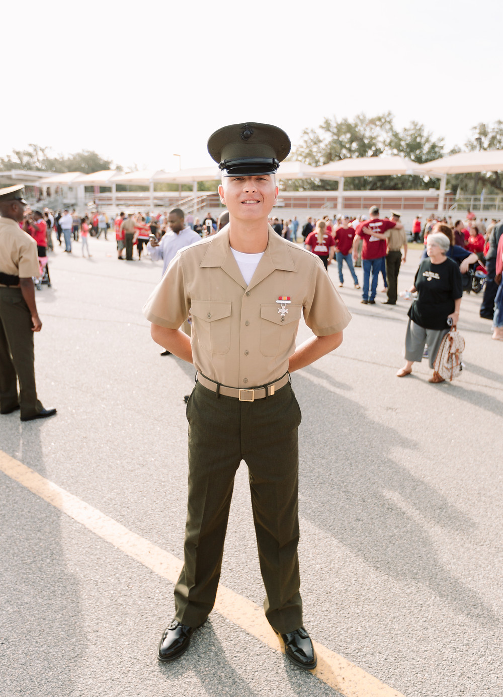 My little brother, the Marine