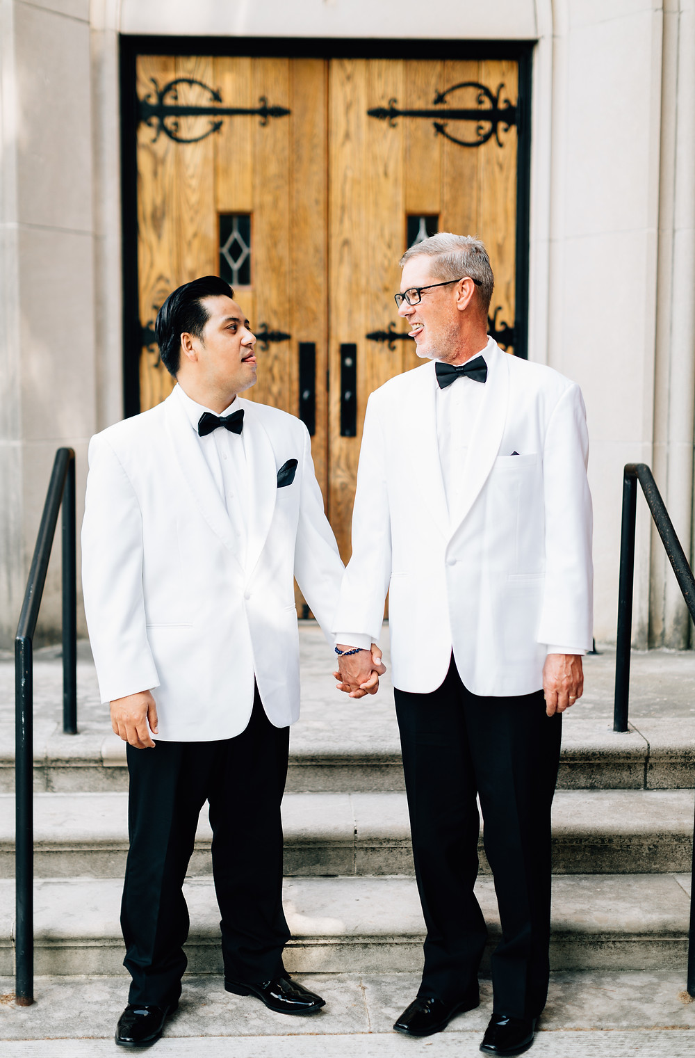 Silly grooms portraits