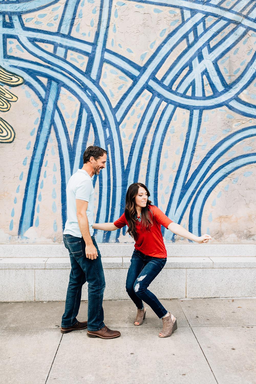 Decatur Square engagement pictures