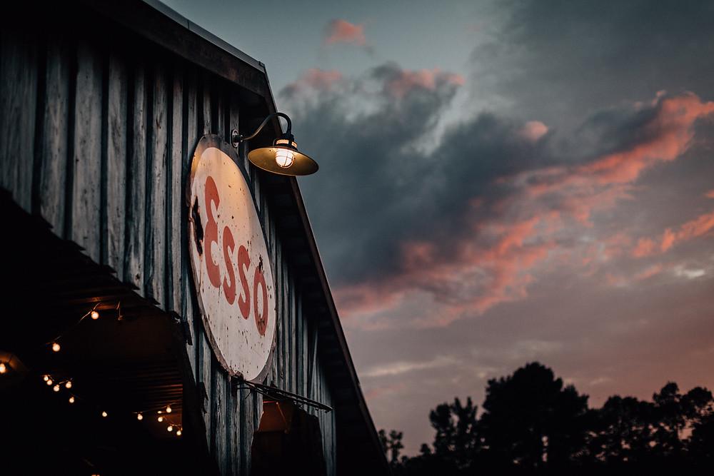 The Boals Farm Esso sign
