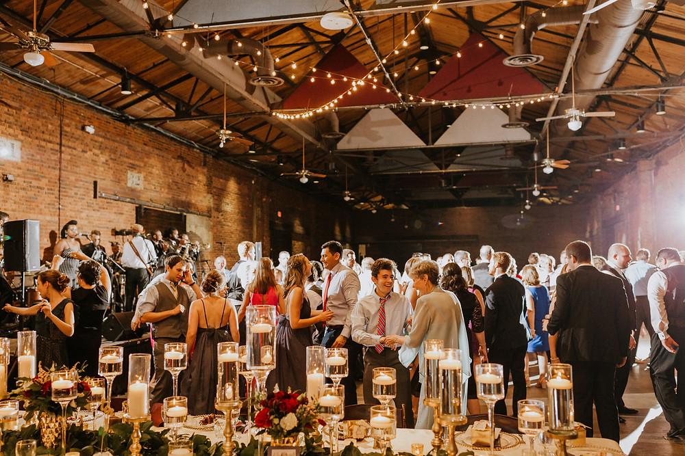 Freight Depot Wedding Reception