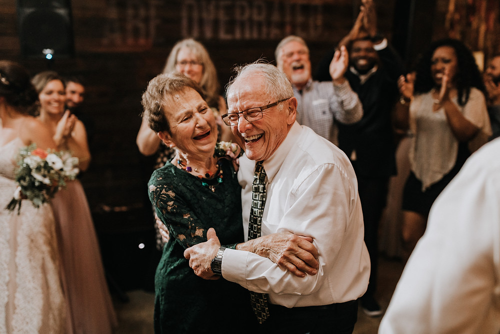 Grandparents Dancing