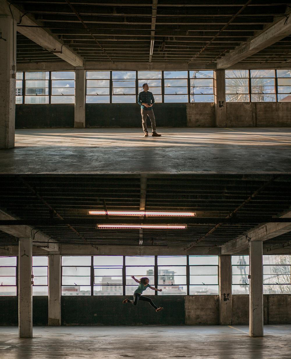 Parking garage in Atlanta