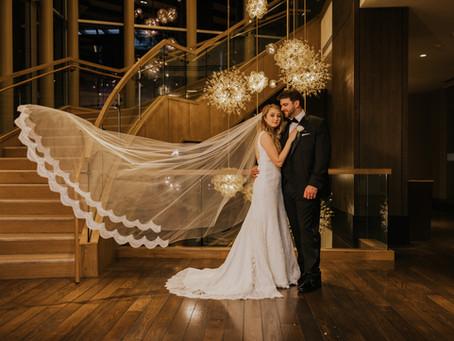 Nicole and Jake | The Omni Hotel Braves Stadium Wedding in Atlanta, GA