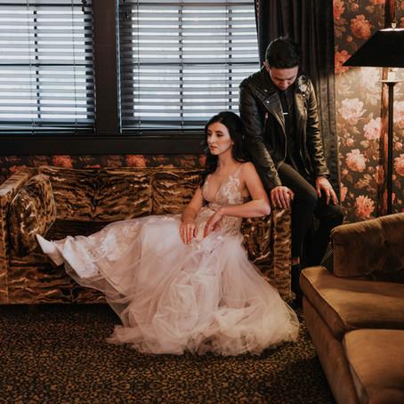 Ashley & Kevin   Ponce City Market Intimate Wedding