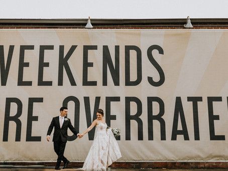 Anna & Vince's Monday Night Brewing Wedding