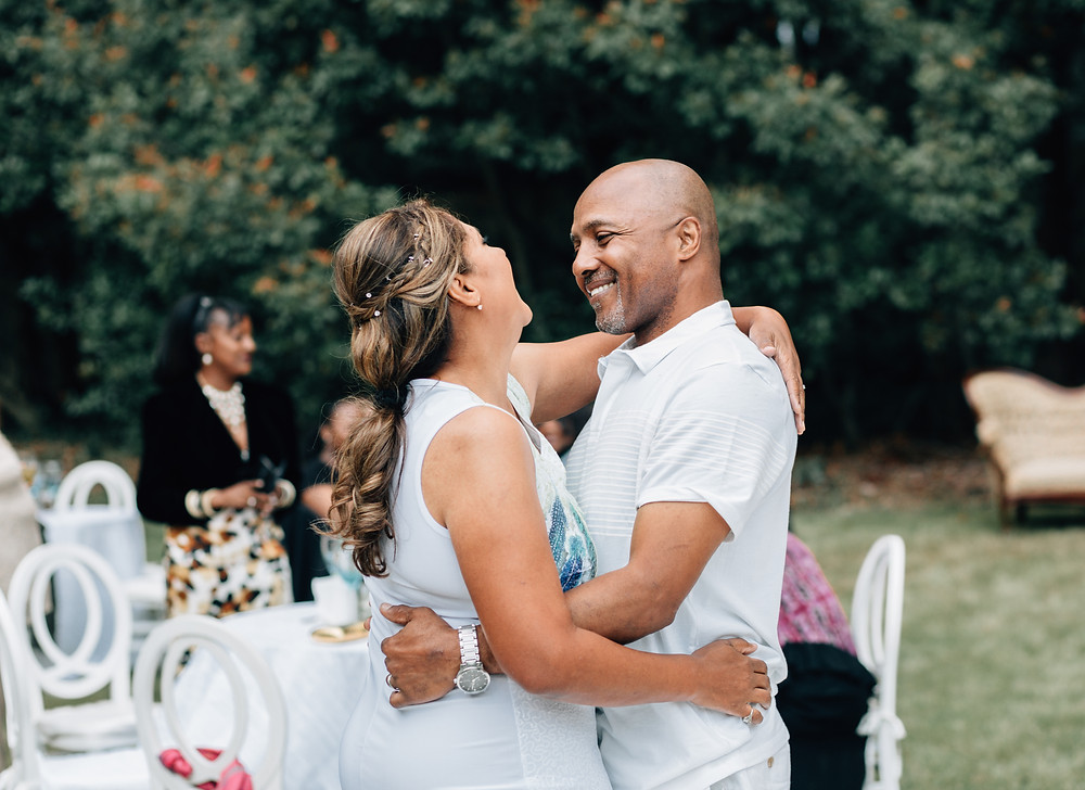 Happy first dance moments