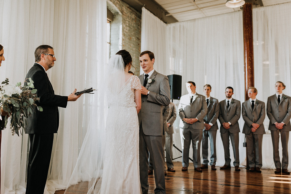 Groom's vows