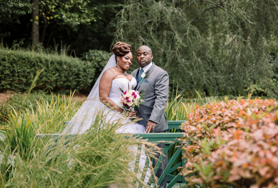 Little Gardens Lawrenceville Wedding Pictures