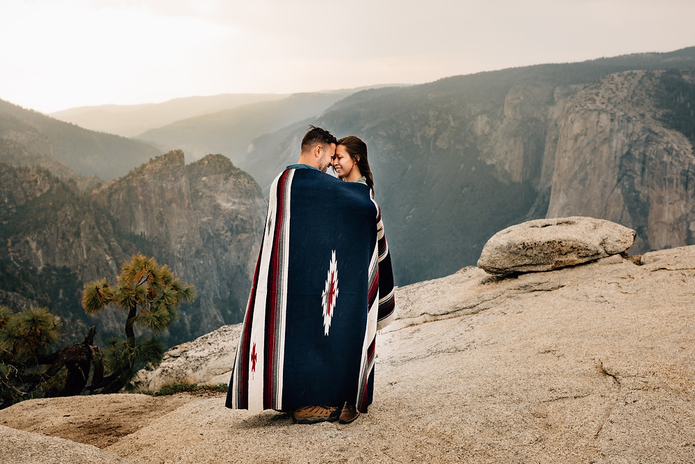Yosemite elopement pictures