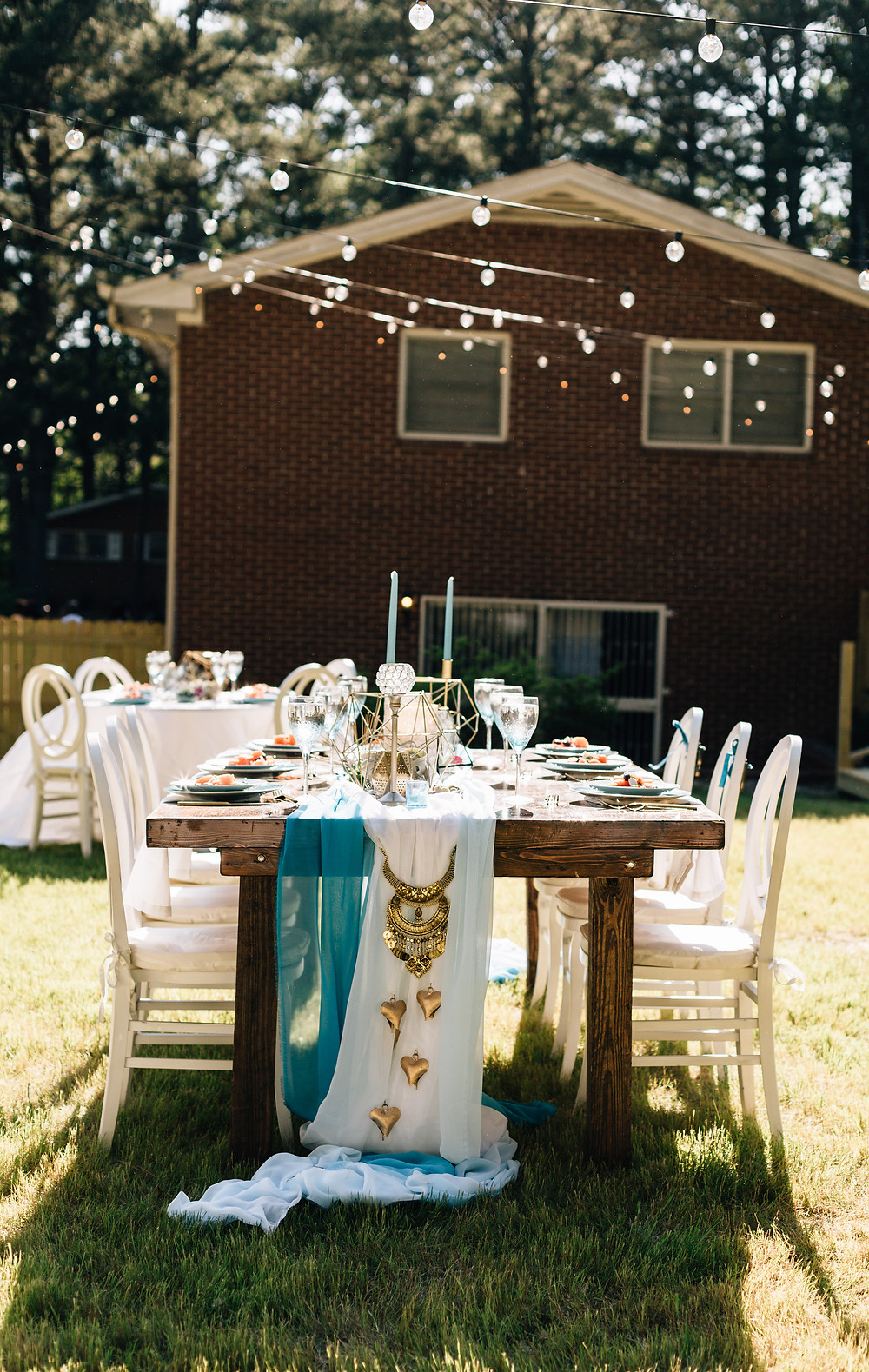 Scarlet Plan & Design Atlanta wedding decorations