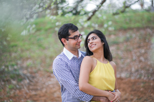 Indian engagement session in Atlanta