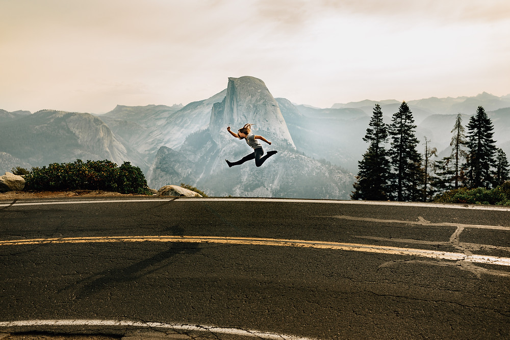 Glacier Point jump