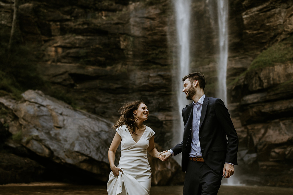 water fall elopement in georgia