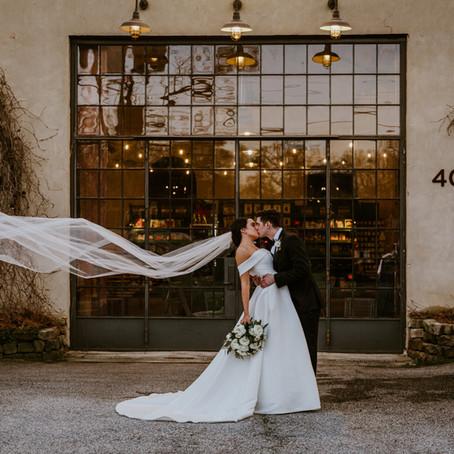 Alexis & Matt's Summerour Studio Wedding