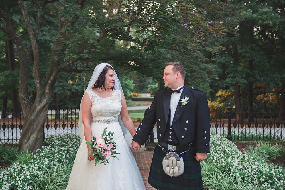 Flint Hill wedding portraits