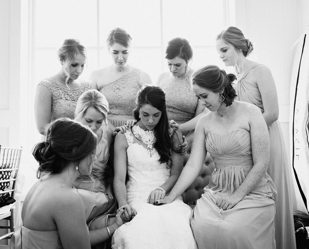 Bridesmaids prayer