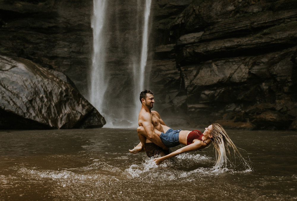 Unposed Atlanta Engagement Photographers