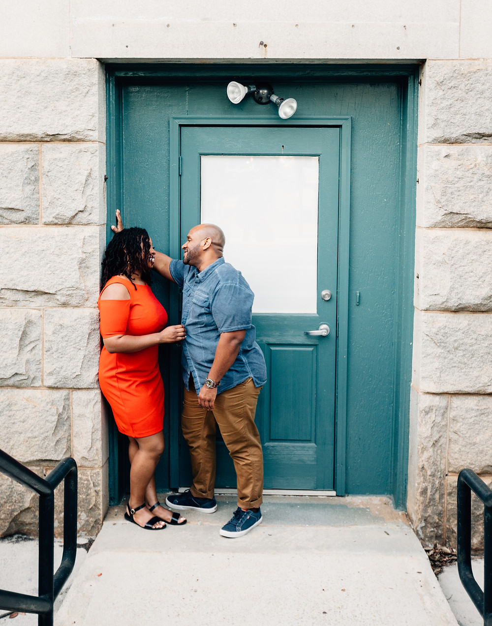 Dekalb Courthouse engagement pictures