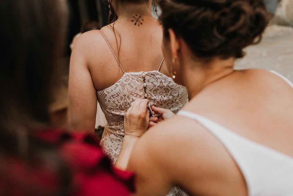 Buttoning Dress