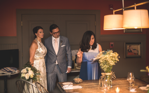 Mixed wedding traditions