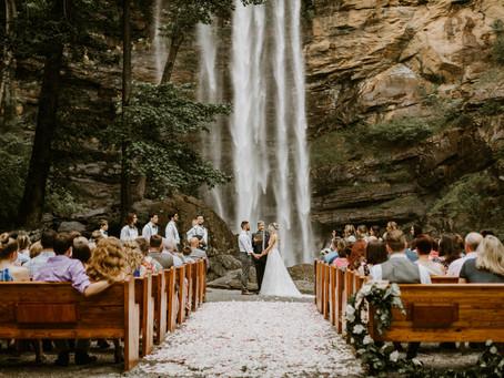 Savannah & Ian's Toccoa Falls Wedding
