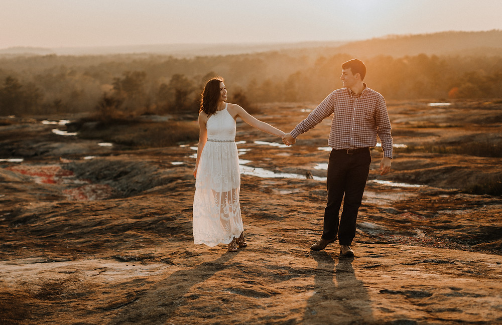 Arabia Mountain Engagement Session