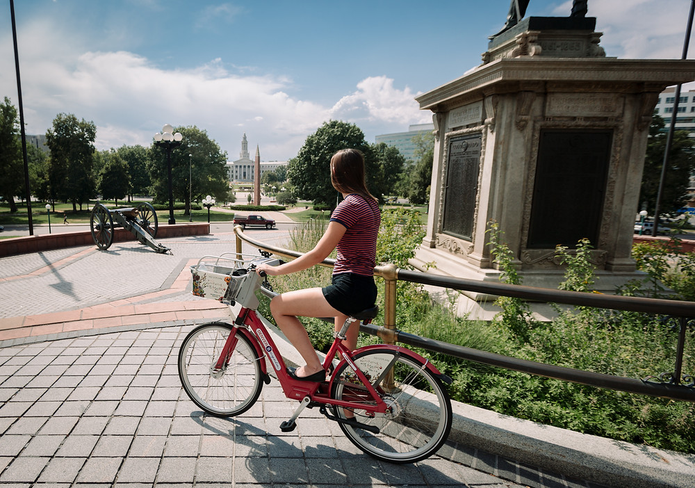 Bike rental downtown Denver