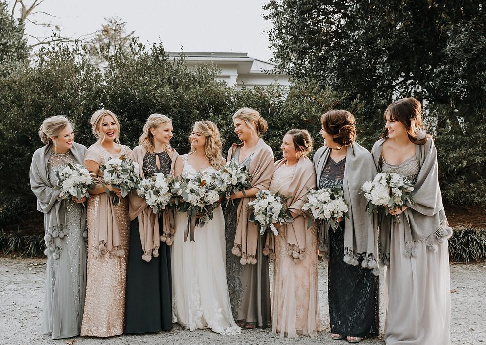 Bridesmaids candids