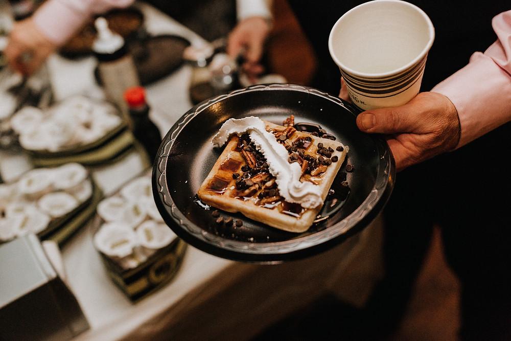 Waffle House at Wedding