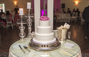 Wedding cake Little Gardens Atlanta