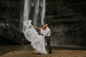 Toccoa Falls wedding waterfall weddingwire reviews