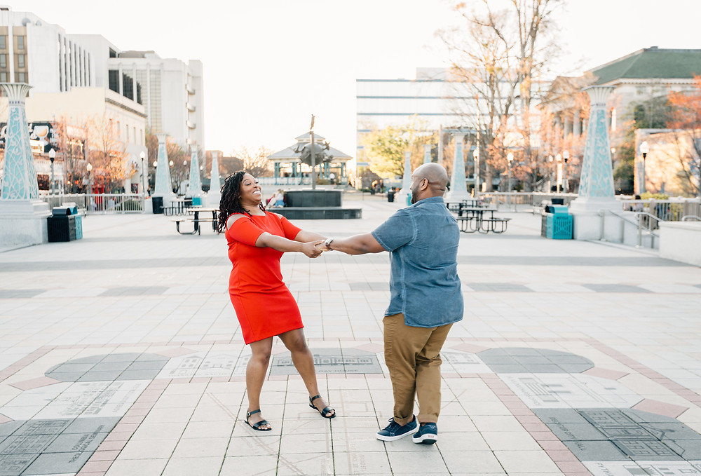 Just be yourself in engagement pictures