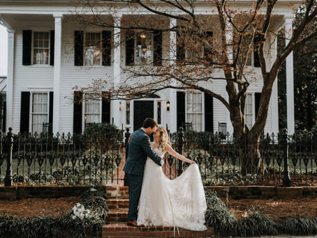 Winter Wedding at Flint Hill
