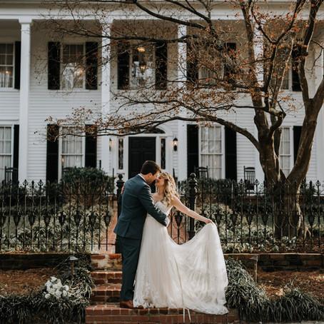 Winter Wedding at Flint Hill