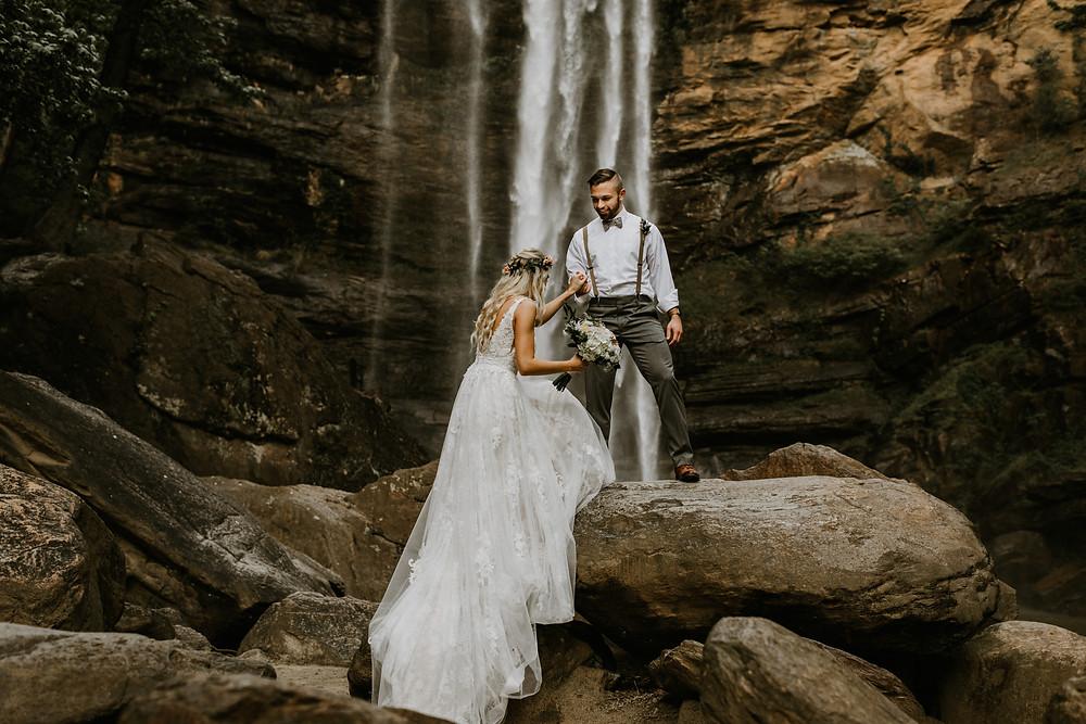 Toccoa Falls Wedding