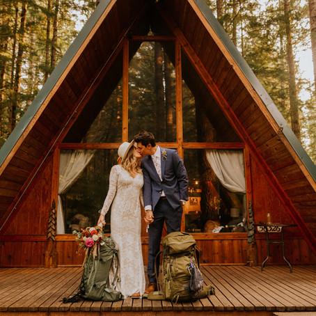 Jenna & Nick   Mount Rainier Elopement
