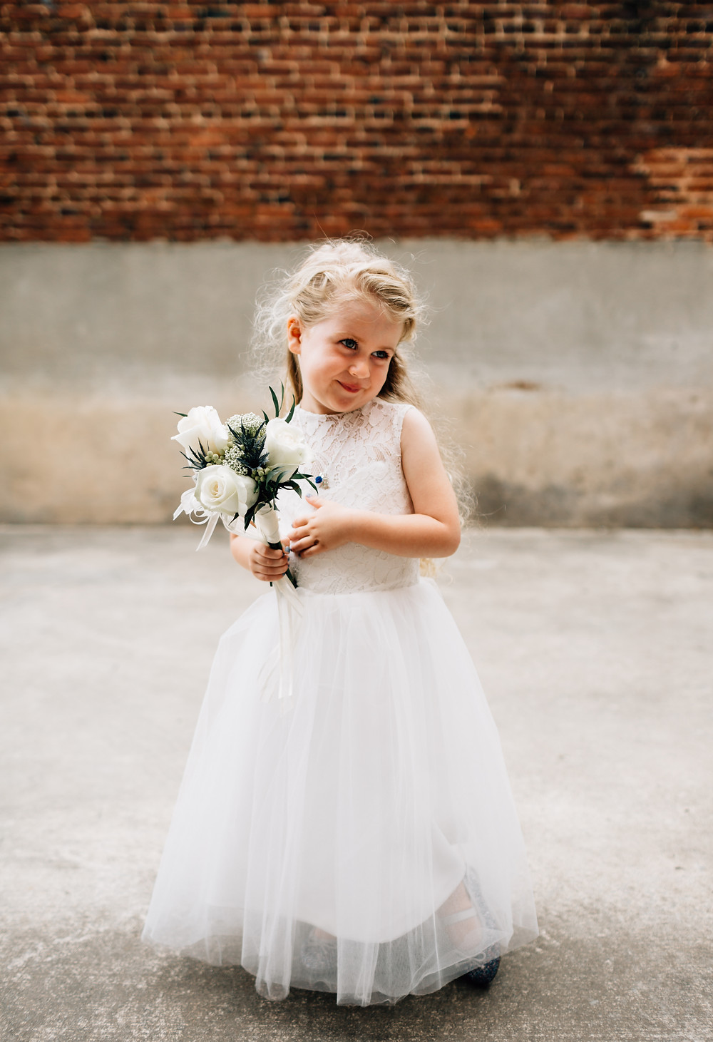 Adorable flower girl