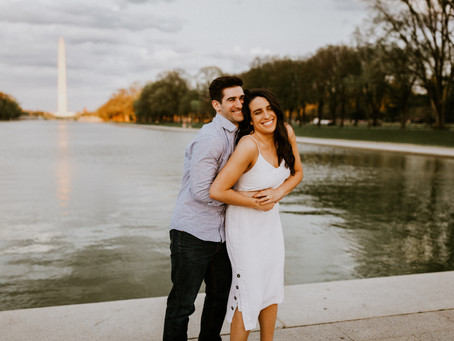 Alexis & Matt's Washington D.C Engagement Session