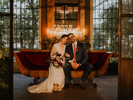 Sarah & Jason | Westside Warehouse Elopement in Atlanta, GA