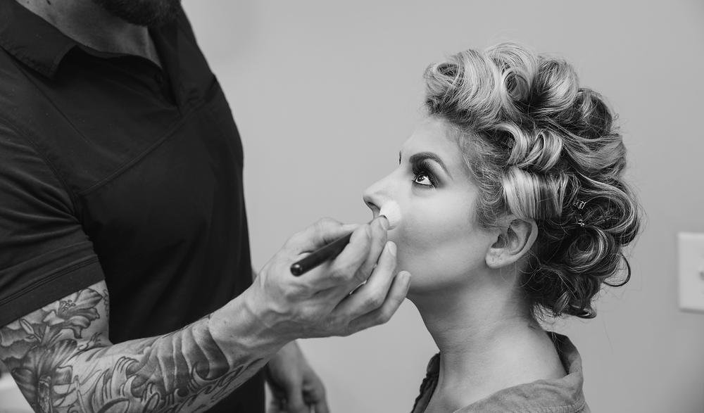 Atlanta Wedding Photographers, Lunalee Photography, Tate House, Fall Wedding, Makeup