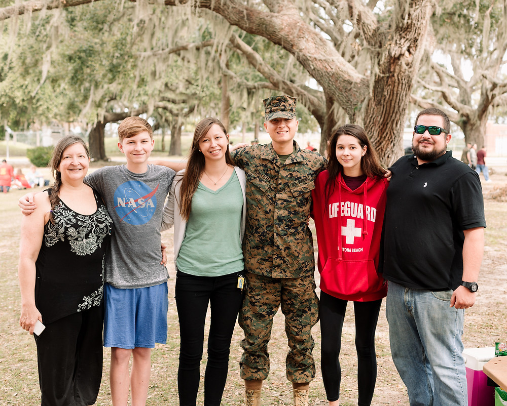 Parris Island family day