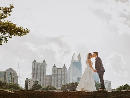 Park Tavern Wedding at Piedmont Park